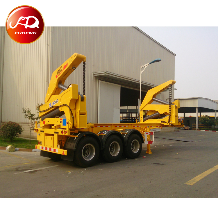 20ft  40ft 37tons Side Lifter Container Truck Trailers For